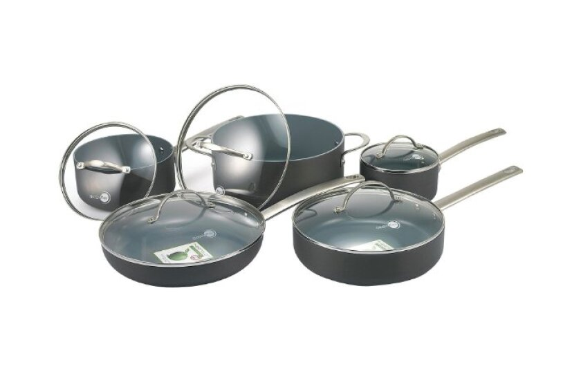 GreenPan 10-pc. New York Hard-Anodized Cookware Set