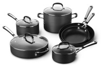 Calphalon Simply Hard-Anodized Aluminum 10-Piece Cookware Set
