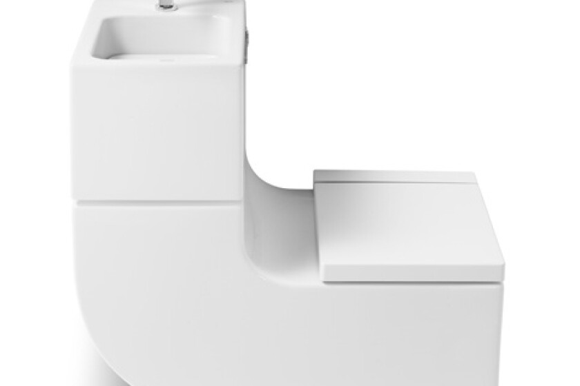 Roca W&W Sink and Toilet Combination