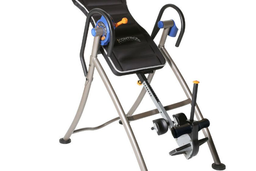 Ironman iControl Inversion Table