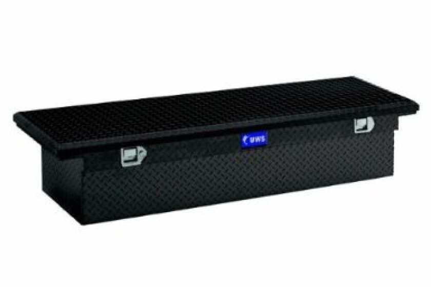 UWS TBS-63-LP-BLK, Single Lid Low Profile Crossover Tool Box