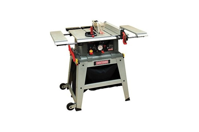 """best Craftsman 10"""" Table Saw with Laser Trac, #21807"""