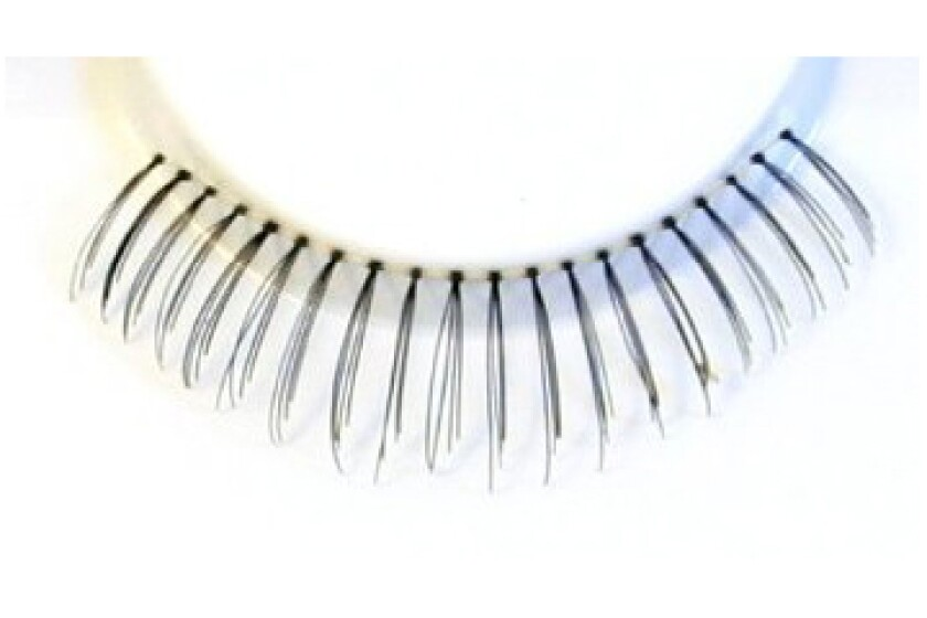 Zinkcolor Human Hair Lower False Eyelashes 75U