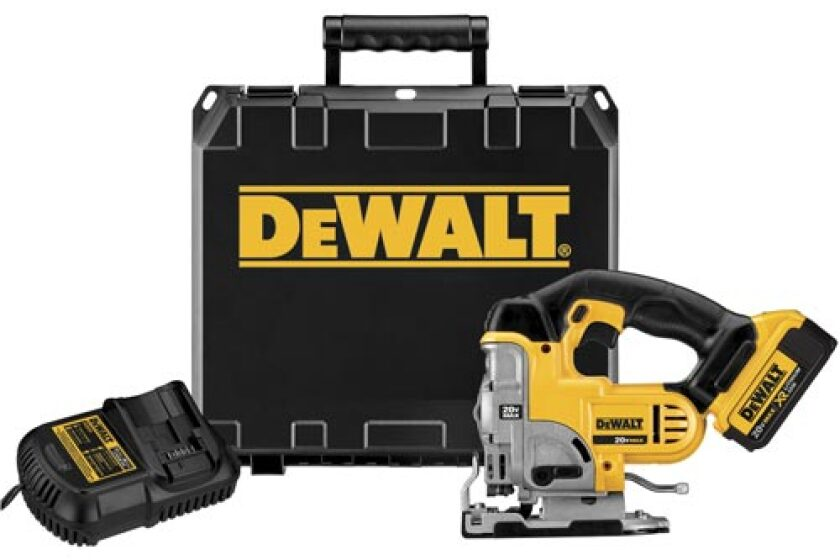 DeWalt DCS3331M1, 20 Volt Max Li-Ion Jigsaw
