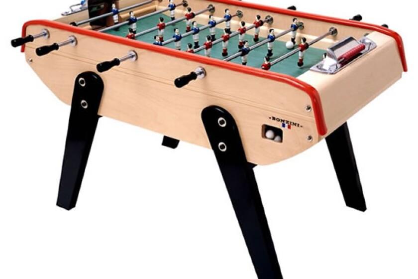 best bonzini foosball table