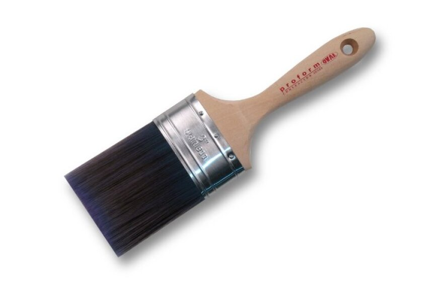 "Proform CO3.0S Oval Straight Cut 70/30 Blend 3"" Paint Brush"