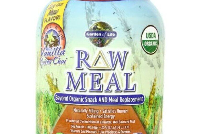 Garden of Life RAW Organic Meal Vanilla Chai