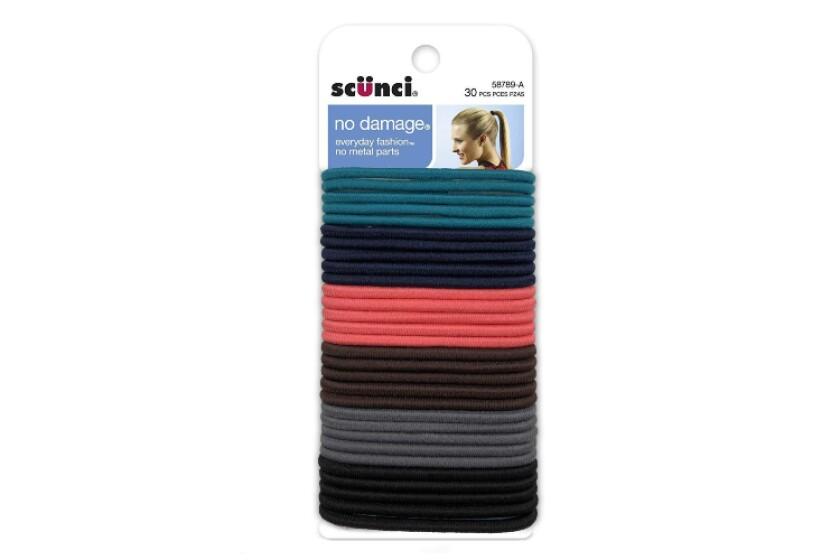 best Scunci No Damage Multi-Color Elastics Hair Tie