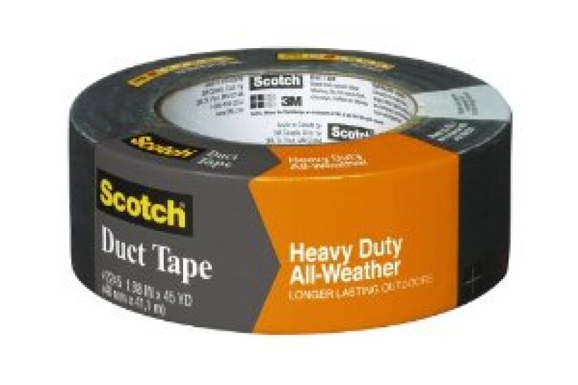 3M 2245 Scotch Heavy Duty All-Weather Duct Tape, 1.88-Inch x 45-Yard,