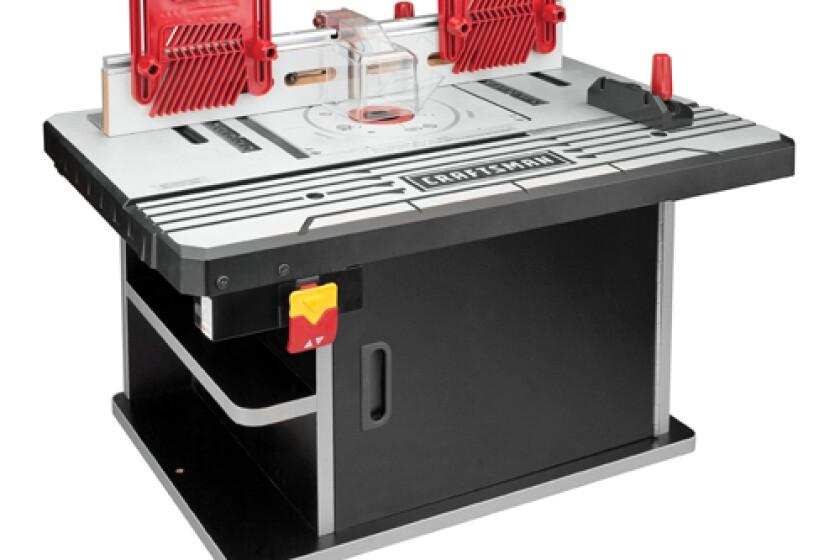 Craftsman Premium Die Cast Aluminum Router Table