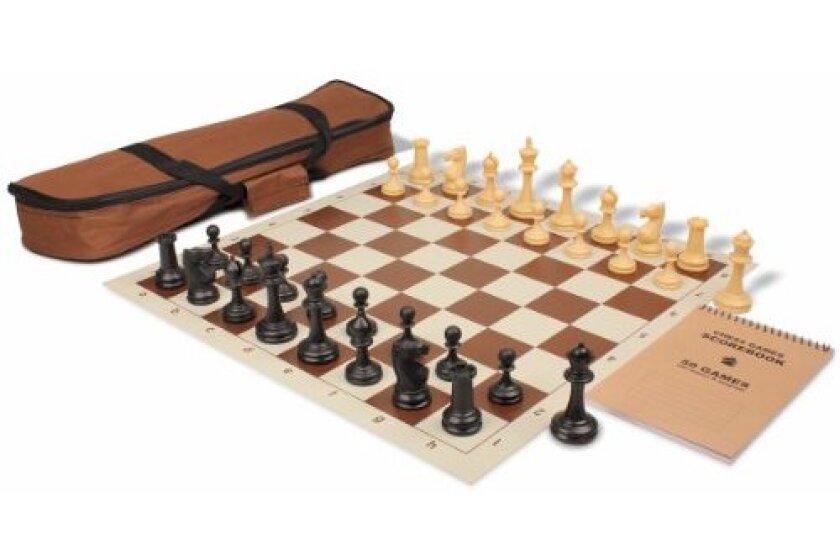 Deluxe Club Carry-All Chess Set Package