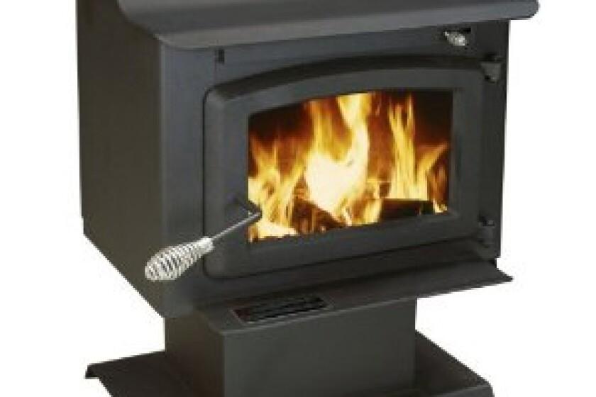 US Stove APS1100B Plate Steel Pedestal Heater