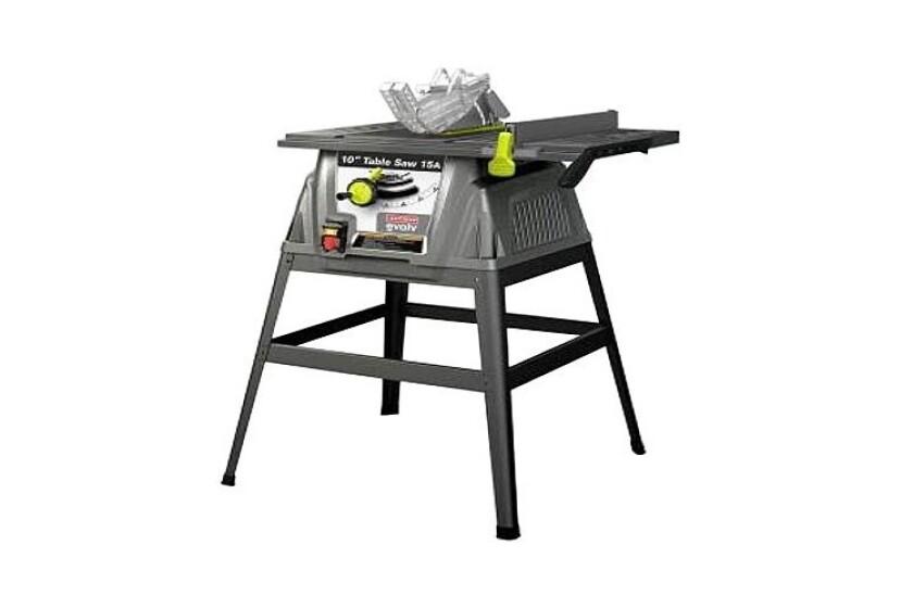 "best Craftsman Evolv 10"" Table Saw, #28461"