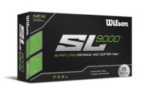 Wilson SL 9000 Feel Golf Ball (15-Pack), White