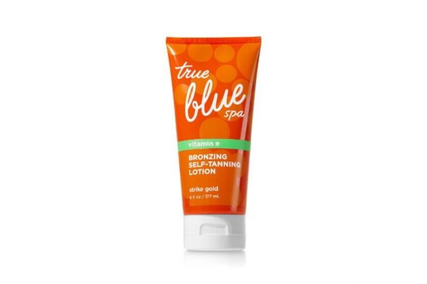 best Bath & Body Works True Blue Spa Bronzing with Vitamin E Self Tanner
