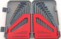 Fuller Tool 130-8030 30-Piece Combo Metric Hex Key Set