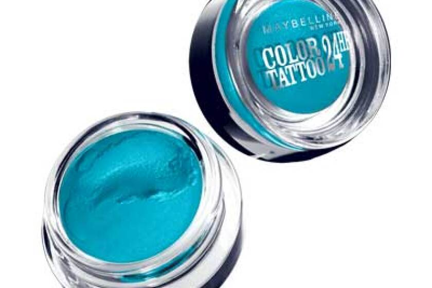 Maybelline Eye Studio Color Tattoo 24 HR Cream Gel Shadow in Tenacious Teal