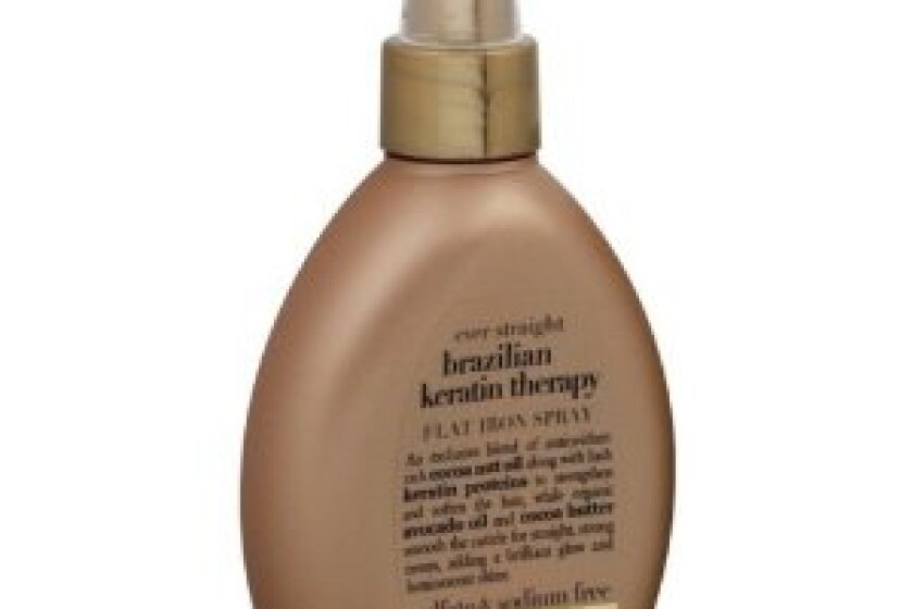 Organix Ever-Straight Brazilian Keratin Therapy Flat Iron Spray