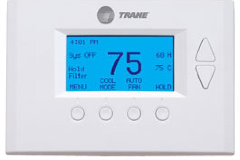 Trane's ComfortLink Smart Control Programmable Thermostat
