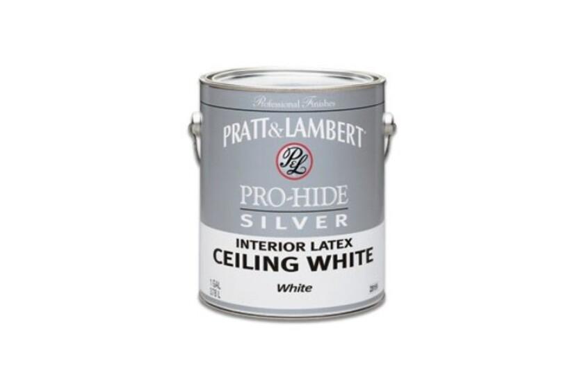 best Pratt & Lambert Pro-Hide Silver Interior Latex Ceiling Paint