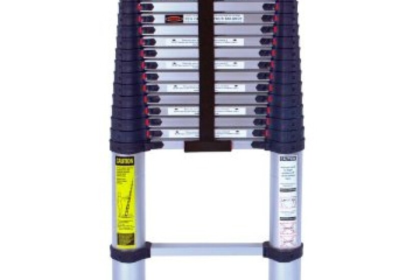Xtend & Climb 785P Aluminum Telescoping Ladder Type I Professional Series, 15.5'