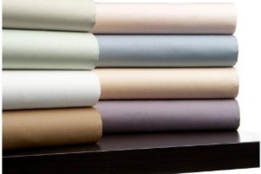 Pinzon 400-Thread-Count 100% Egyptian Cotton Hemstitch Sheet Set
