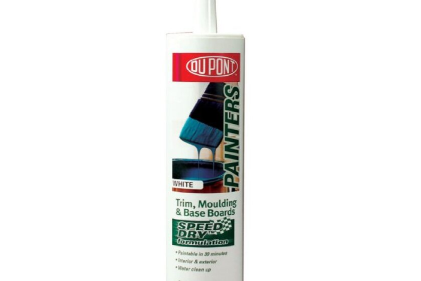 DuPont Painters Caulk with Speed Dry Technology