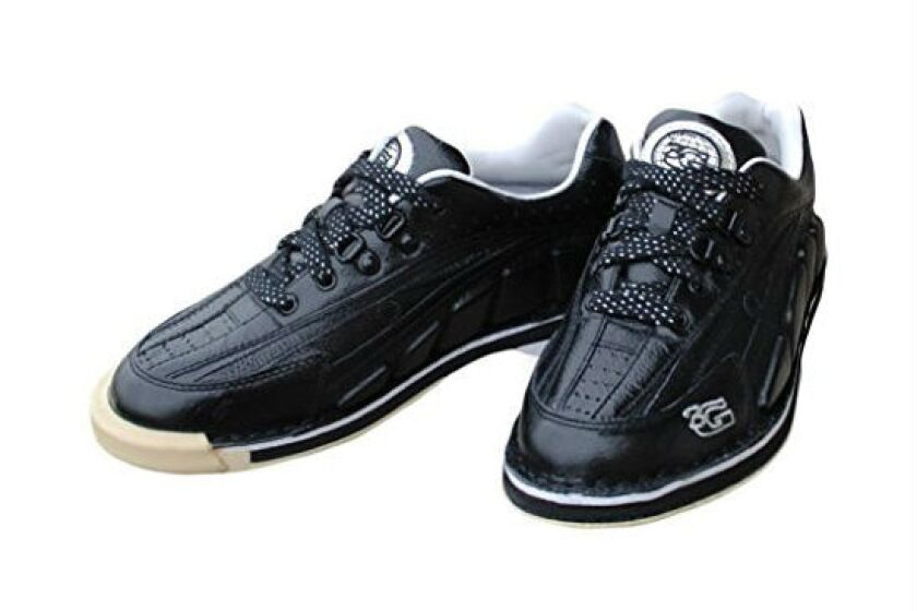 3G Mens Tour Ultra Black Bowling Shoes- Right Hand