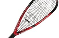 Head Black Jack Racquetball Racquet Strung with Cover
