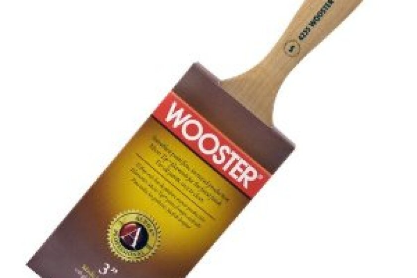 Wooster Brush 4235-3 Alpha Semioval Paintbrush, 3-Inch