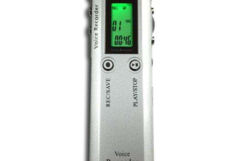 Etekcity DVR126 Digital Voice Recorder