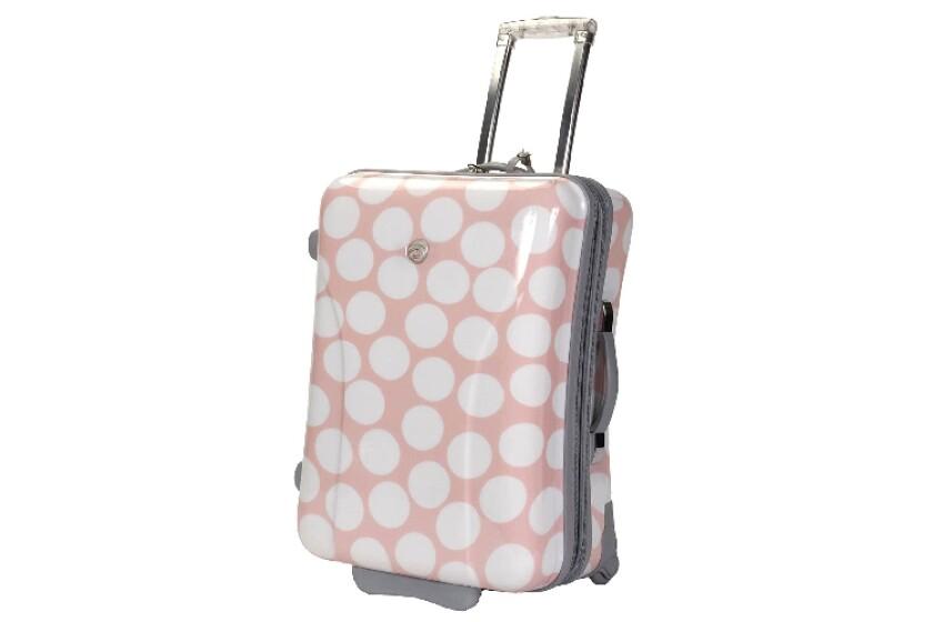 best International Traveller Dots 21 Expandable Hardside Upright Luggage