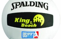 Spalding Official Volleyball of King of the Beach and USA Beach Tour