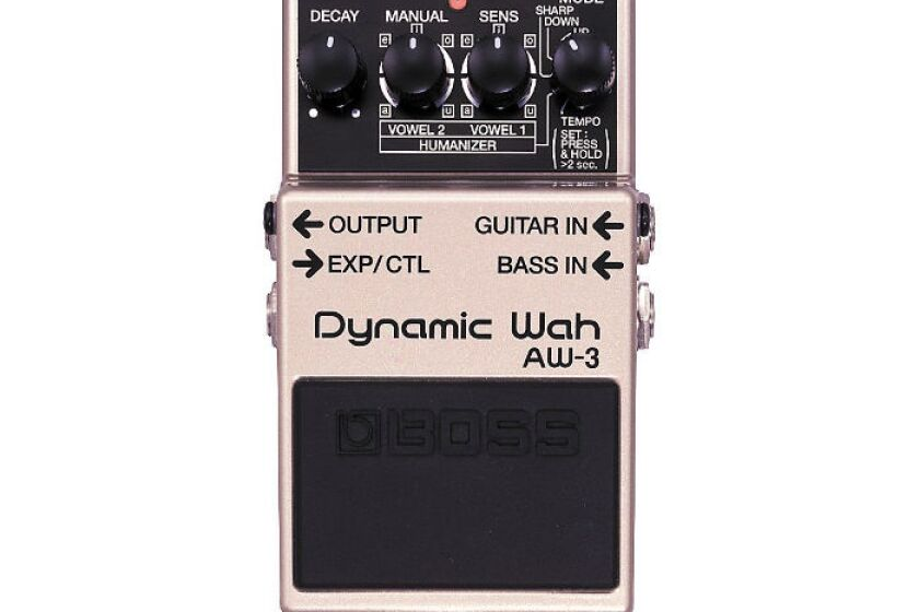 Boss AW-3 Dynamic Wah Guitar and Bass Wah Effects Pedal