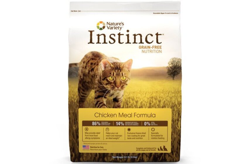 Nature's Variety Instinct Grain-Free Duck Meal and Turkey Meal Dry Cat Food