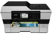 Brother Printer MFCJ6920DW Color Inkjet Multi-Function Center with Scanner, Copier and Fax