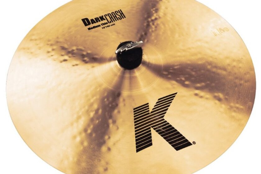 "Zildjian K 16"" Dark Medium Thin Crash Cymbal"