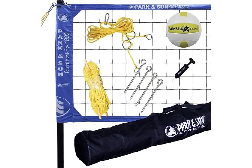 Park and Sun Tournament Flex 1000 Volleyball Net System
