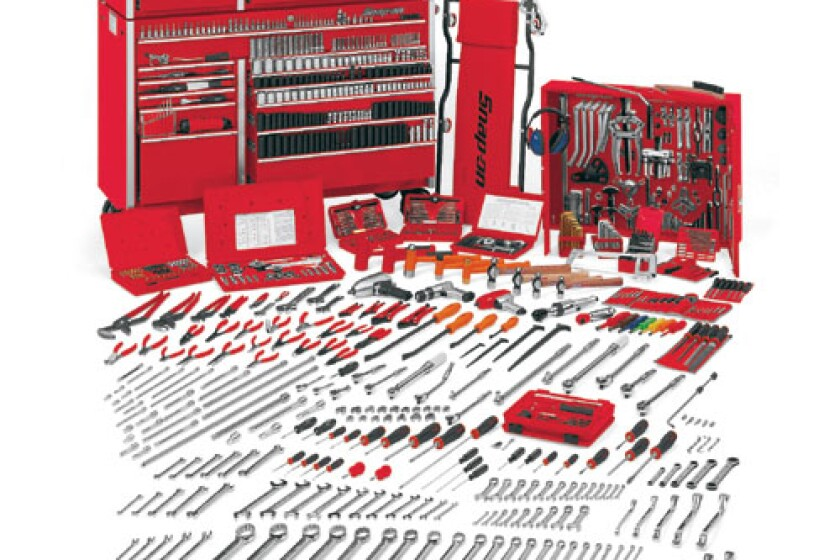 Snap-On 9600GSBO Complete US Tool Set