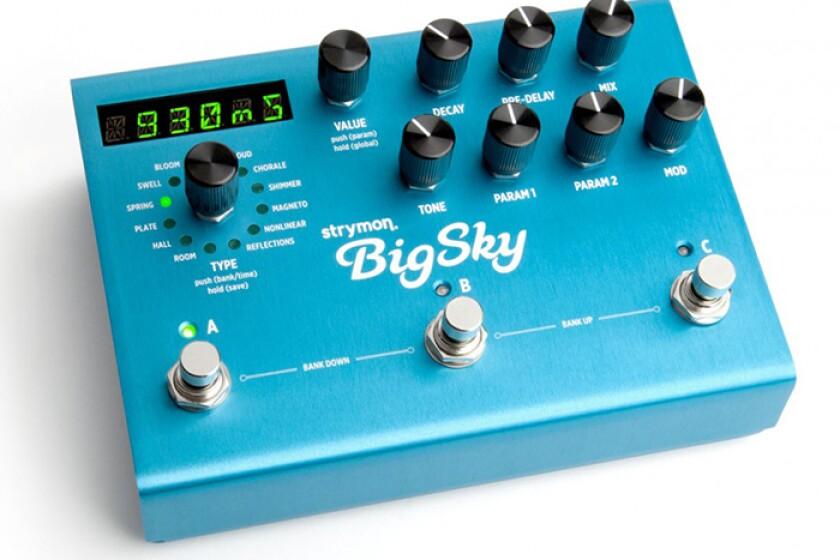 Strymon BigSky Guitar Reverb Pedal