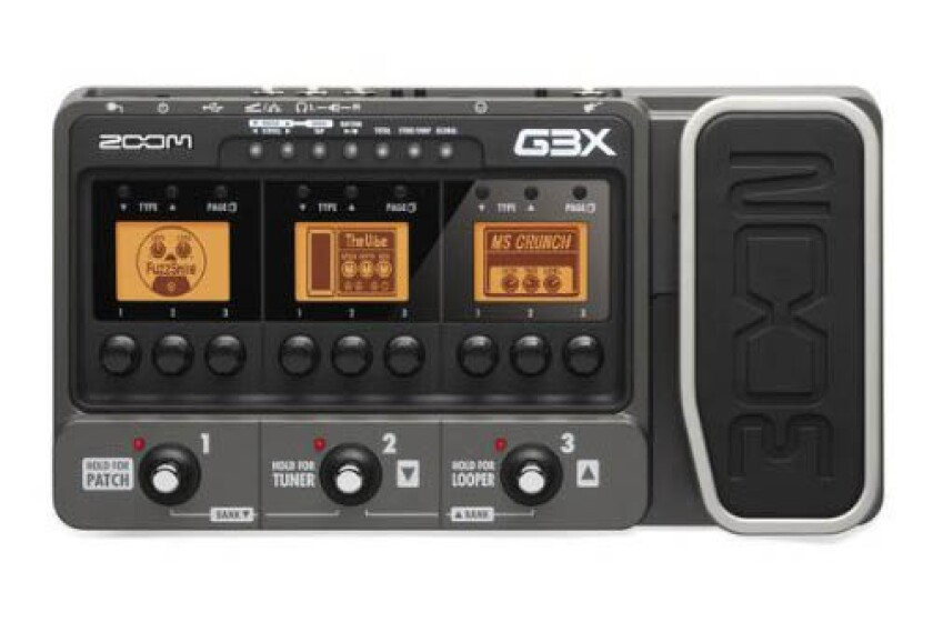 Zoom G3X Guitar Effects & Amp Simulator Pedal
