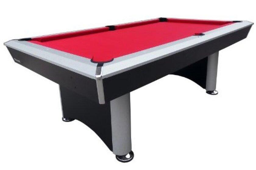 Playcraft Sprint Red Cloth Pool Table