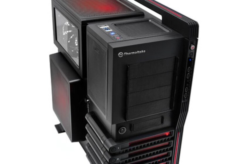 ThermalTake VN10001W2N Level 10 GT  Black Full Tower
