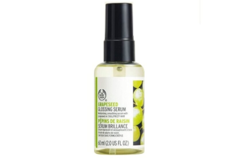 best The Body Shop Grapeseed Hair Smothing Serum
