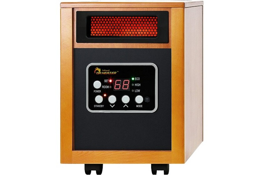 Dr Heater Portable Quartz Infrared Space Heater