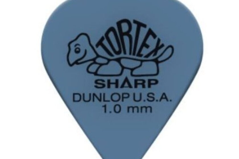 Dunlop 412P100 1.0mm Tortex Sharp Guitar Picks