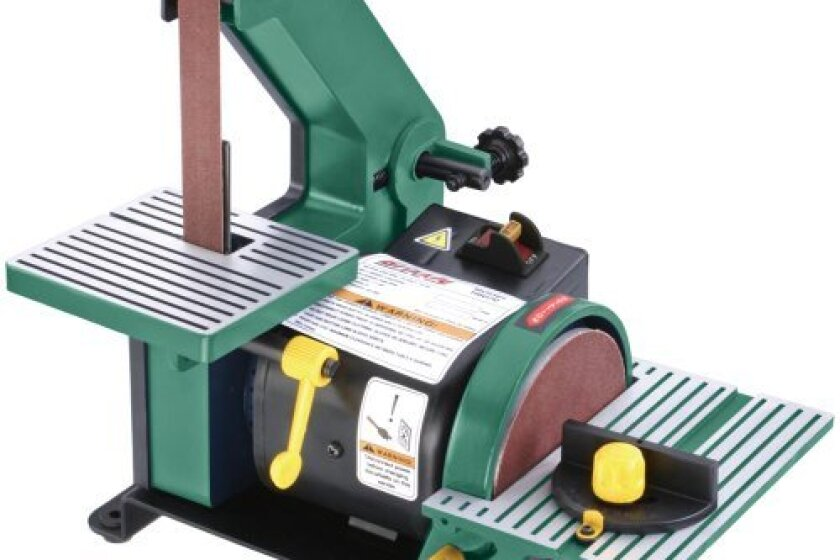 "Grizzly H6070 1""x 30"" Belt and 5"" Disc Sander,"