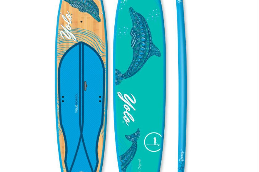 2015 YOLO Original All Around Stand Up Paddle Board