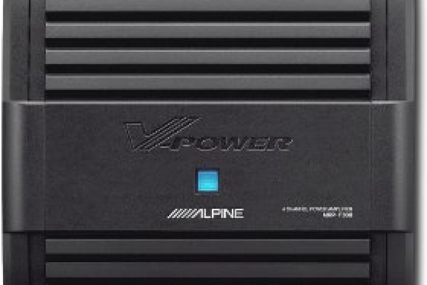 Alpine MRP-F300 4/3/2 Channel Power Amplifier