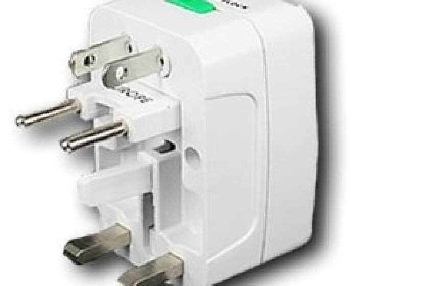 All-in-One Travel Power Plug Adapter for US, UK, EU, AU